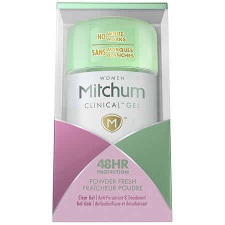 Mitchum Women Clinical Gel 48 Hour Powder Fresh