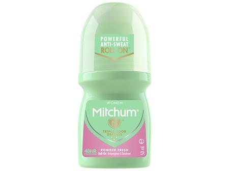 Mitchum Women's Roll On Powder Fresh