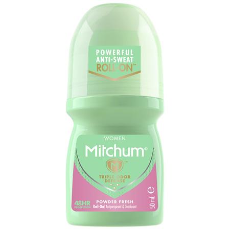 Mitchum Women's Roll On Powder Fresh 50mL