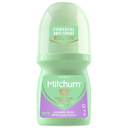 Mitchum Women's Roll On Shower Fresh 50mL