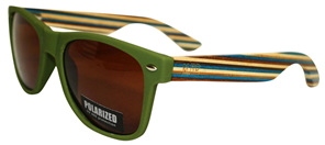 Moana Rd 50/50 Sunglasses - Green #463