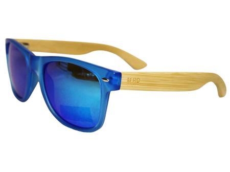 Moana Rd 50/50's Sunnies - Blue with Reflective Lens #461