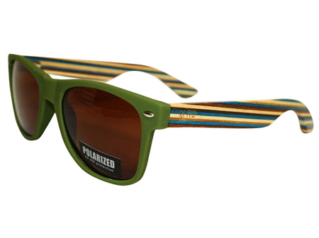 Moana Rd 50/50's Sunnies - Green #463
