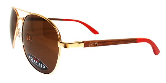 Moana Rd Aviator Sunglasses - Goose #482