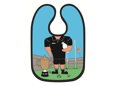 Moana Rd Baby Bib Rugby - Boy