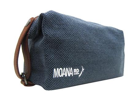 Moana Rd Canvas Toilet Bag - Blue
