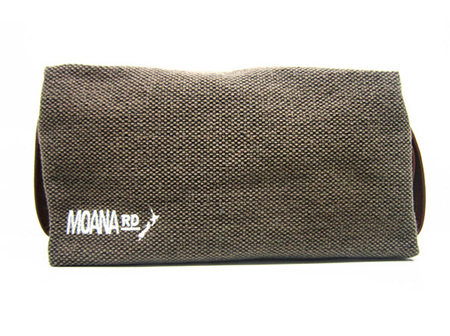 Moana Rd Canvas Toilet Bag - Brown