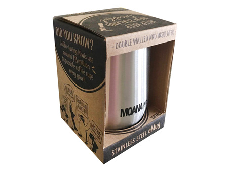 Moana Rd eMug - Silver