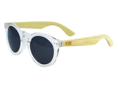 Moana Rd Grace Kelly Sunglasses - Clear