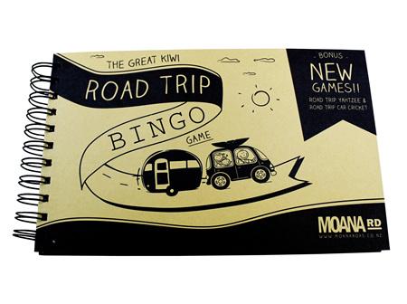 Moana Rd Great Kiwi Road Trip Bingo