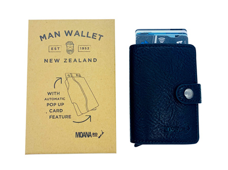 Moana Rd Men's Pop Up Wallet - Black