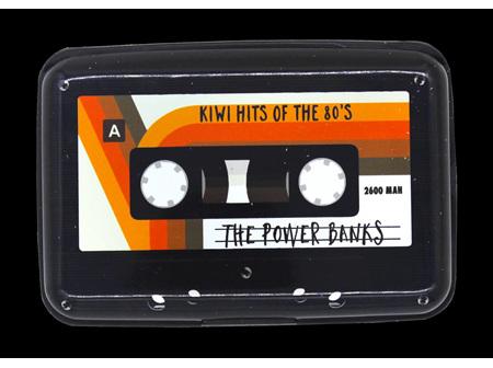 Moana Rd Power Bank + Wallet - Retro Tape