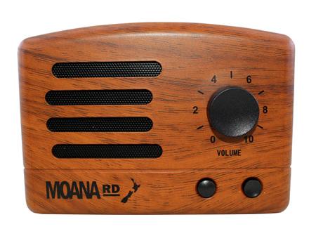 Moana Rd Redwood Look Retro Speaker