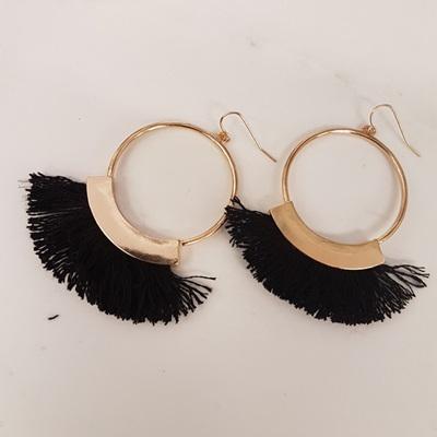 Mohawk Hoop Earrings