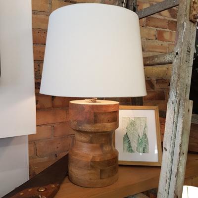 Mohini Wooden Based Lamp