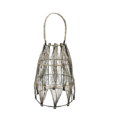Moku Lantern - Black Wash - Large