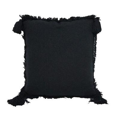 Moni Stonewash Cushion - Black Wash 50x50cm
