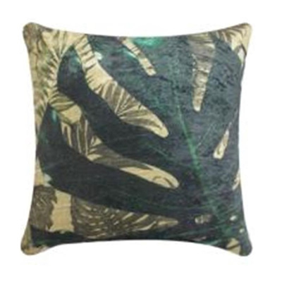 Monsteria Velvet Cushion - 45x45cmh