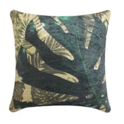 Monsteria Velvet Cushion - 45x45cmh