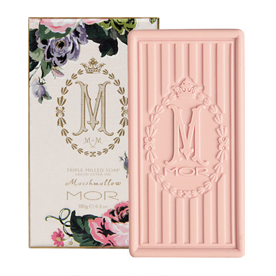 MOR Marshmellow Boxed triple milled soap 180g