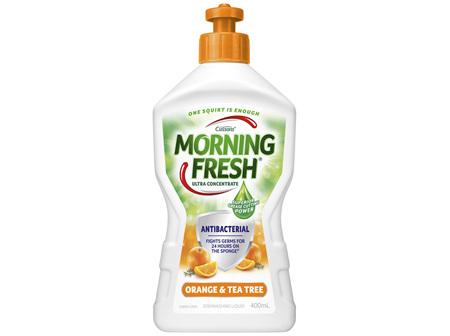 Morning Fresh Dishwashing Liquid Orange & Tea Tree Antibacterial 400mL