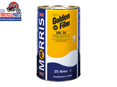 Golden Film SAE 50 Classic Engine Oil - 25 Litre