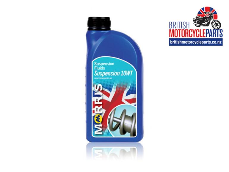 Morris Lubricants Motorcycle Fork Oil Suspension Fluid 10 WT - Auckland NZ