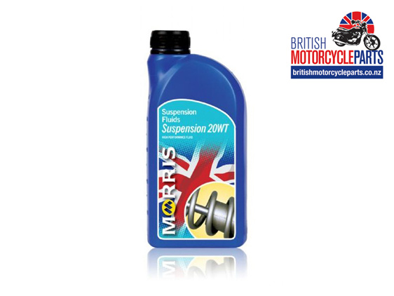 Morris Lubricants Suspension Fluid 20WT Fork Oil - British Parts Auckland NZ
