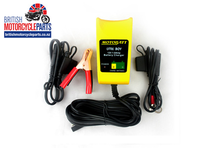 MotoBatt Battery Charger Little Boy 6V/12V 1A