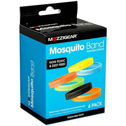 MOZZIGEAR Mosquito Band Adult 6pk