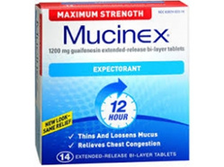 Mucinex Expectorant 1200mg - 14 tablets