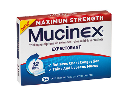 MUCINEX Max. Strength 1200mg 14s