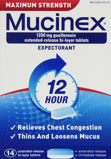 Mucinex Max. Strength 1200mg 14