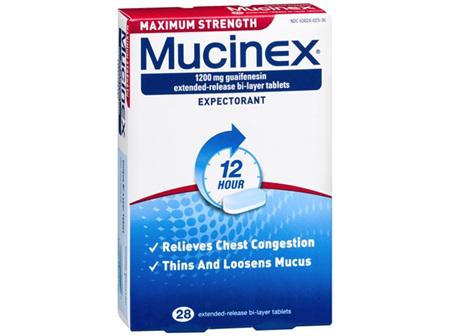 Mucinex Maximum Strength 1200mg 14 Tabs