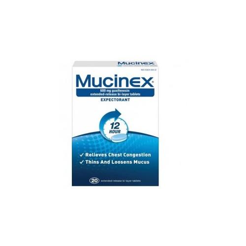 MUCINEX SE 20 TAB