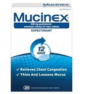 Mucinex Se 600mg Tablets 20