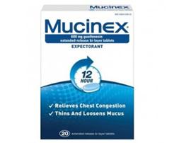 MUCINEX TAB 600MG 20TAB