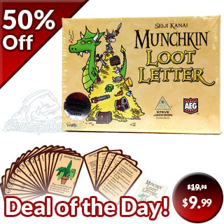 Munchkin Loot Letter - Boxed Version