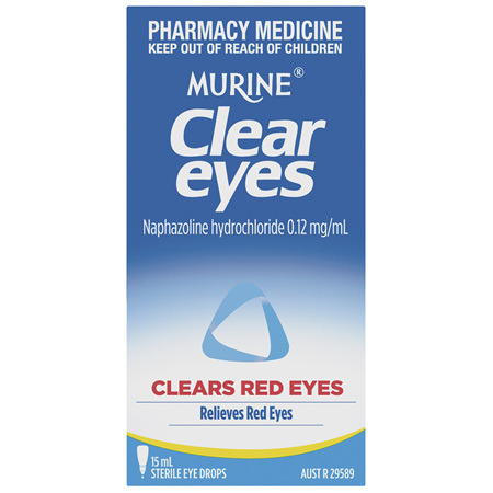 Murine Clear Eyes Drops 15mL