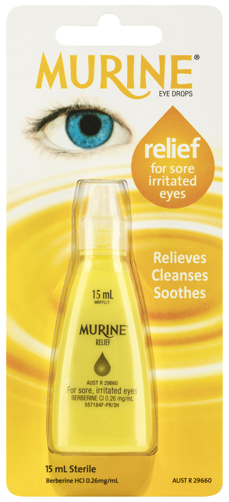 Murine Relief Eye Drops 15mL