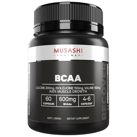 Musashi BCAA  60 Capsules