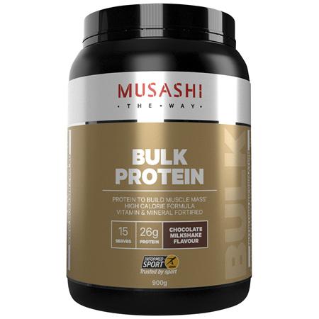 Musashi Bulk Protein Chocolate Milkshake 900g