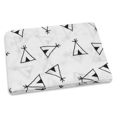 Muslin Swaddle - Abstract TeePee