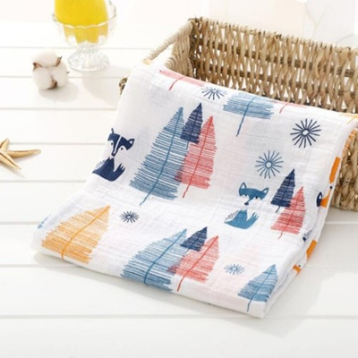 Muslin Swaddle - Colorful Woods