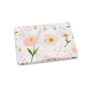 Muslin Swaddle - Floral Peach