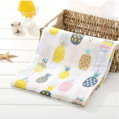 Muslin Swaddle - Pineapple Party