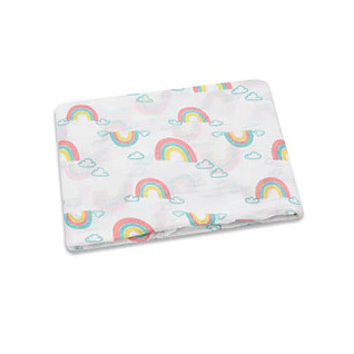 Muslin Swaddle - Rainbow Galore