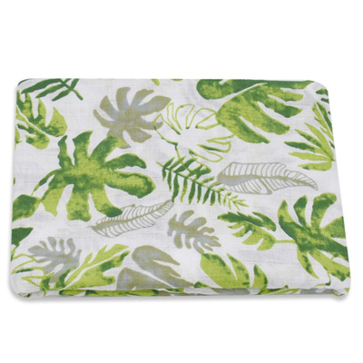 Muslin Swaddle - Tropical Leaves