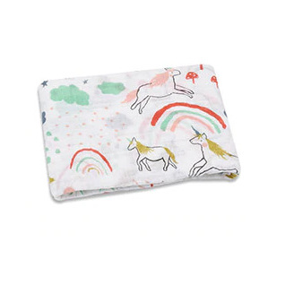 Muslin Swaddle - Unicorn Galore