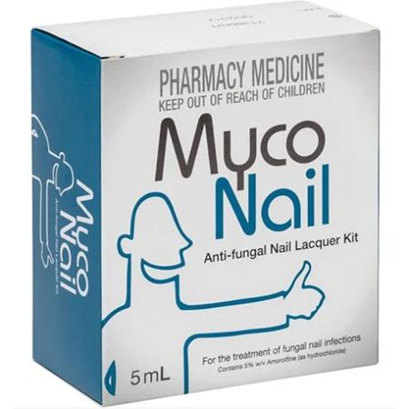 MYCONAIL Amorolfine 5% Nail Lacquer 5ml